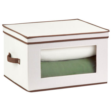 jcpenney.com | Honey-Can-Do® Natural Canvas Tall Window Storage Chest