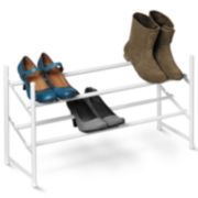 Honey-Can-Do® 2-Tier Expandable Shoe Rack