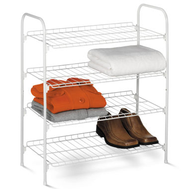 jcpenney.com | Honey-Can-Do® 4-Tier Wire Storage Shelf