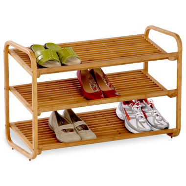 jcpenney.com | Honey-Can-Do® 3-Tier Deluxe Bamboo Shoe Shelf