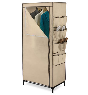 jcpenney.com | Honey-Can-Do® Clothing Storage Closet w/ Shoe Organizer