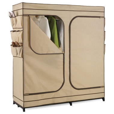 jcpenney.com | Honey-Can-Do® Double-Door Clothing Storage Closet w/ Shoe Organizer
