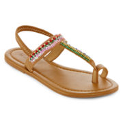 Mixit™ Tribal Toe-Loop Sandals