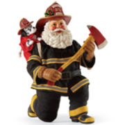 Possible Dreams® Ruff Job Santa Figurine