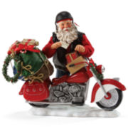Possible Dreams® Holiday Hog Santa Figurine