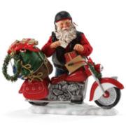 Possible Dreams® Holiday Hog Santa Figurine