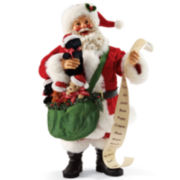 Possible Dreams® Hush Puppies Santa Figurine