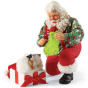 Possible Dreams® The Purr-Fect Gift Santa Figurine