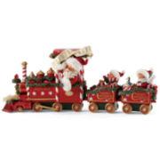 Possible Dreams® All Aboard Santa Figurine