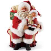 Possible Dreams® Smile! Santa Figurine