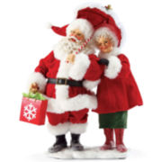 Possible Dreams® Let It Snow Santa Figurine