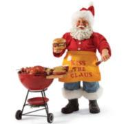 Possible Dreams® Kiss the Claus Santa Figurine