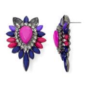 Mixit™ Multicolor Teardrop Earrings