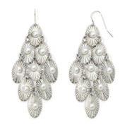 Mixit™ Simulated Pearl Kite Chandelier Earrings