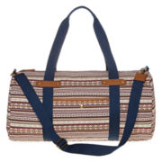 Olsenboye® Tribal Print Weekender Duffel Bag