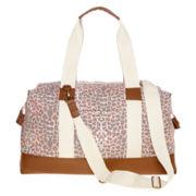 Olsenboye® Leopard Print Weekender Duffel Bag