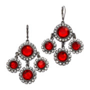 Mixit™ Red Kite Drop Earrings