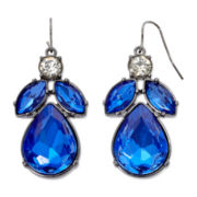 Mixit™ Blue Marquise Stone Drop Earrings