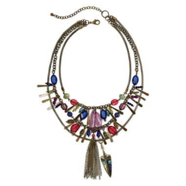 jcpenney.com | Aris by Treska 3-Row Shaky Necklace