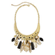 Aris by Treska Gold-Tone Collar Necklace