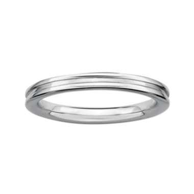 jcpenney.com | Personally Stackable Sterling Silver Step-Down Ring