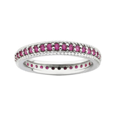 jcpenney.com | Personally Stackable Lab-Created Ruby Eternity Ring