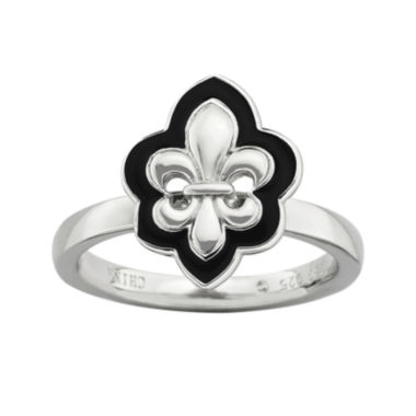 jcpenney.com | Personally Stackable Fleur-de-Lis Ring