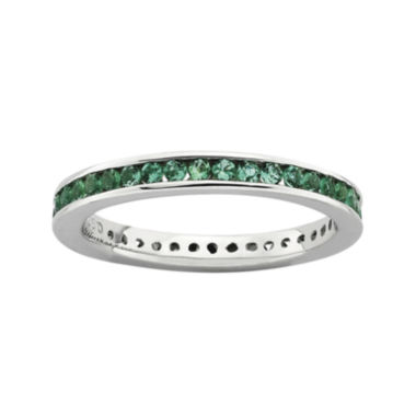 jcpenney.com | Personally Stackable Lab-Created Emerald Eternity Ring