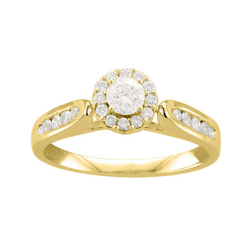 1/2 CT. T.W. Diamond 14K Yellow Gold Ring