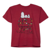 Short-Sleeve Christmas Graphic Tee – Boys 8-20