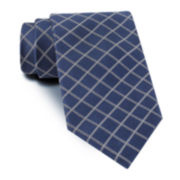 Claiborne® Graphic Grid Tie