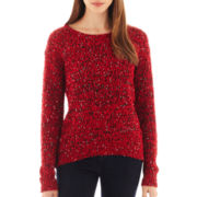 i jeans by Buffalo Long-Sleeve Sequined Sweater