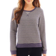 Levi's® Striped Loop French Terry Crewneck Sweatshirt