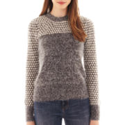 I 'Heart' Ronson® Long-Sleeve Fuzzy Sweater