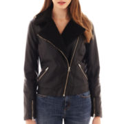 I 'Heart' Ronson® Faux-Leather Moto Jacket