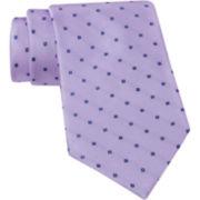 Claiborne® Micro Square Silk Tie