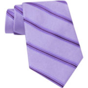 Claiborne® Striped Silk Tie