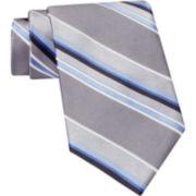 Claiborne® Repp Stripe Silk Tie