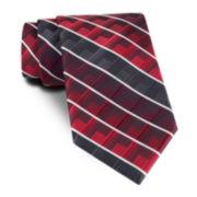 Van Heusen® Traveler Geo Stripe Slim Tie