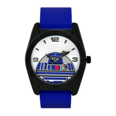 jcpenney.com | Star Wars® R2-D2 Blue Silicone Strap Watch