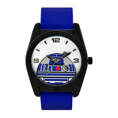 Star Wars® R2-D2 Blue Silicone Strap Watch