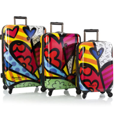 jcpenney.com | Heys® Britto A New Day 3-pc. Hardside Spinner Luggage Set
