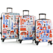 Heys® FVT Cities 3-pc. Hardside Spinner Luggage Set