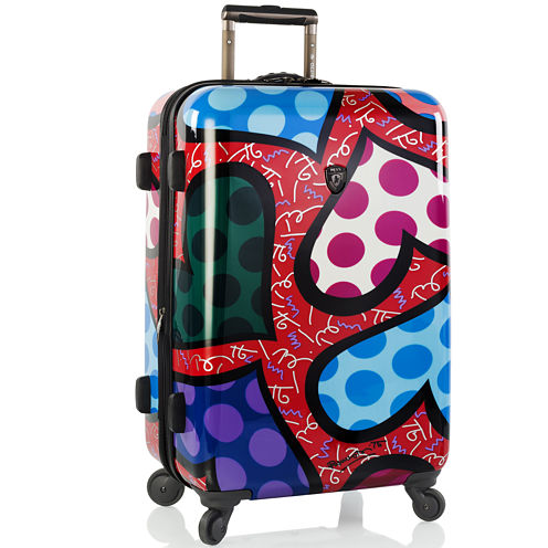 "Heys® Britto Hearts Carnival 26"" Hardside Spinner Upright Luggage"