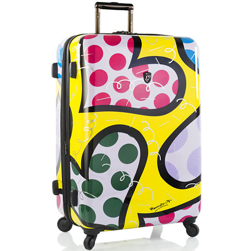 "Heys® Britto Hearts Carnival 30"" Hardside Spinner Upright Luggage"