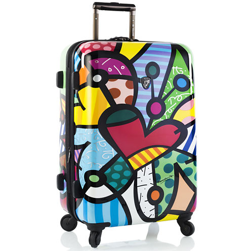 "Heys® Britto Butterfly Love 26"" Hardside Spinner Upright Luggage"