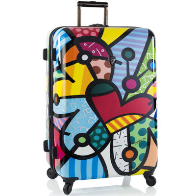"Heys® Britto Butterfly Love 30"" Hardside Spinner Upright Luggage"