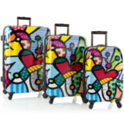 Heys® Britto Butterfly 3-pc. Hardside Spinner Upright Luggage Set