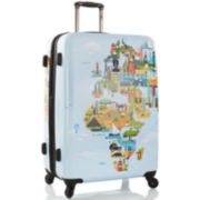 "Heys® FTV World Map 30"" Hardside Spinner Luggage"