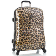 "Heys® Exotic Leopard 21"" Carry-On Hardside Spinner Upright Luggage"